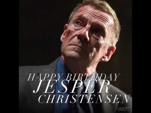 HAPPY BIRTHDAY JESPER CHRISTENSEN