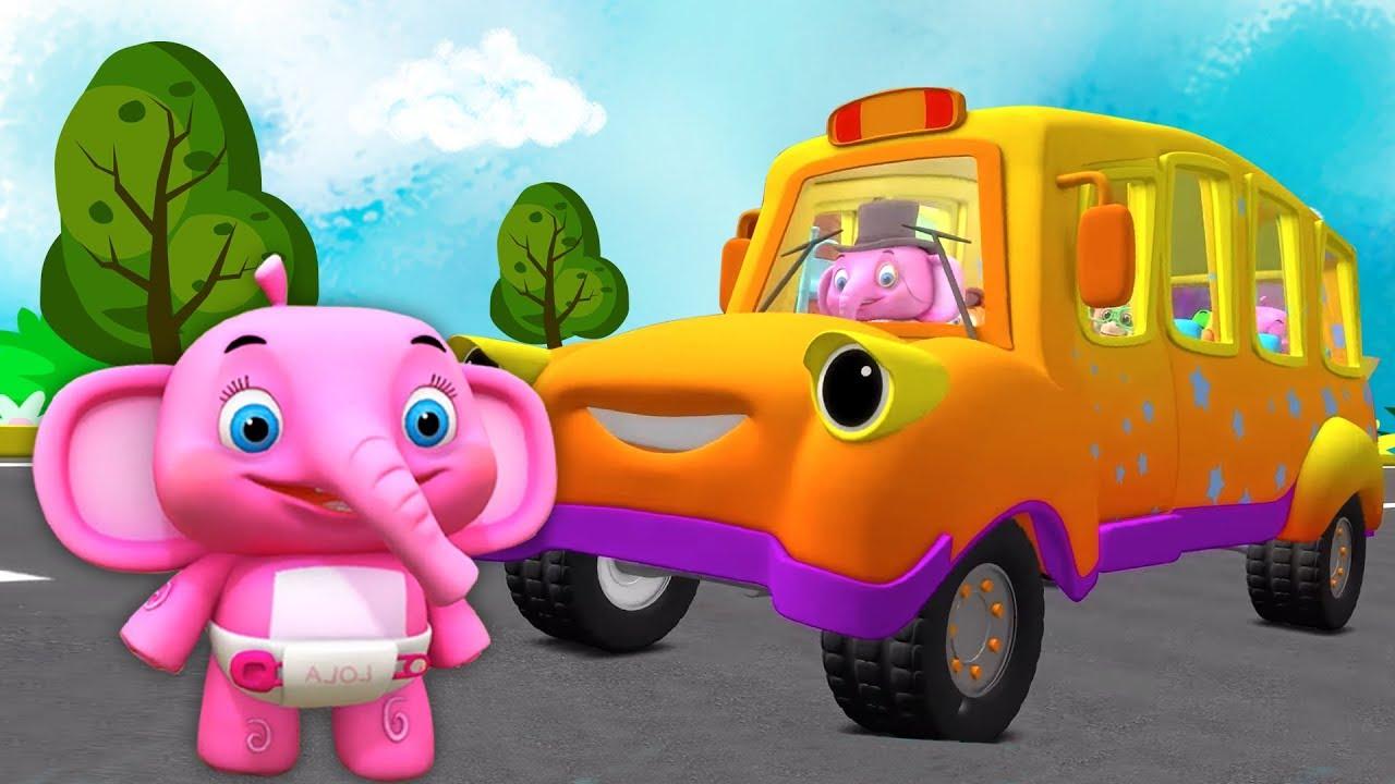 Roda Di Bus Lagu Anak Kartun Anak Taman Kanak Kanak Little