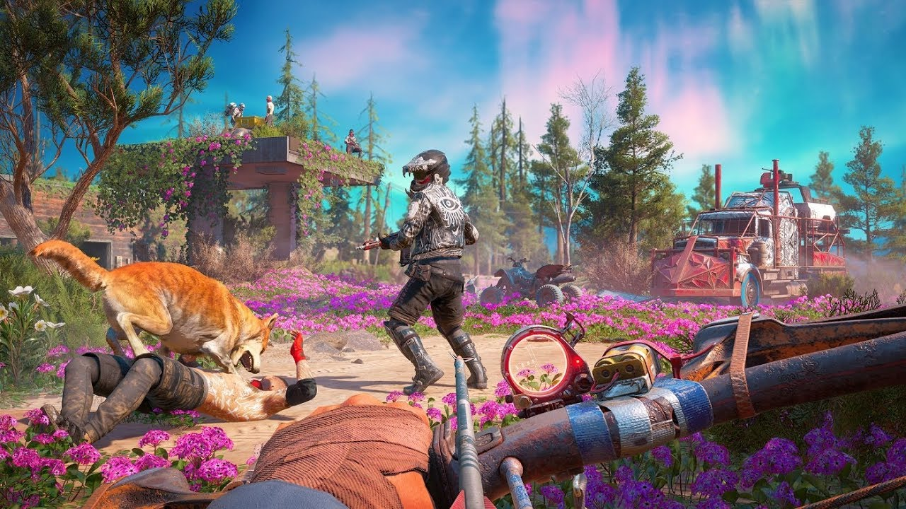 far cry 6 gameplay footage
