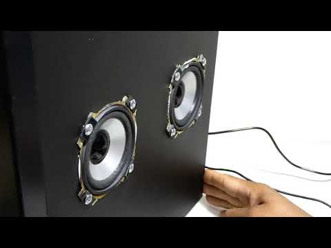 HOW TO CONVERT OLD SUBWOOFER INTO BLUETOOTH PARTY SPEAKER