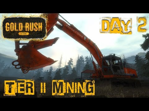 TIER 2 MINING | Small Excavator, Mobile Washplant and MORE | GOLD RUSH: THE GAME