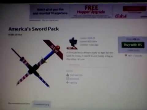 ROBLOX ll America's Sword Pack ll ROBLOX Hat