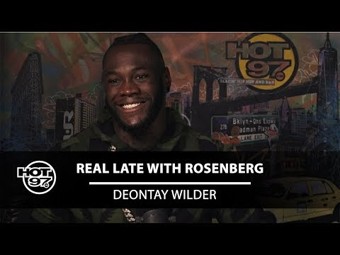 Deontay Wilder Talks about His Future, Anthony Joshua, and M