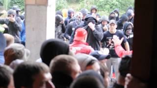 """Бійка футбольних фанатів рівненського """"Вереса"""" і київського """"Арсеналу"""""""