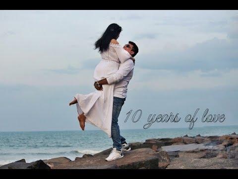 BEST 10th wedding Anniversary, VIDIT VANDANA JOURNEY, 10th Anniversary family concept