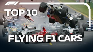 Top 10 Flying F1 Cars