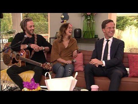 Een verrassingsoptreden voor Mark Rutte! - KOFFIETIJD
