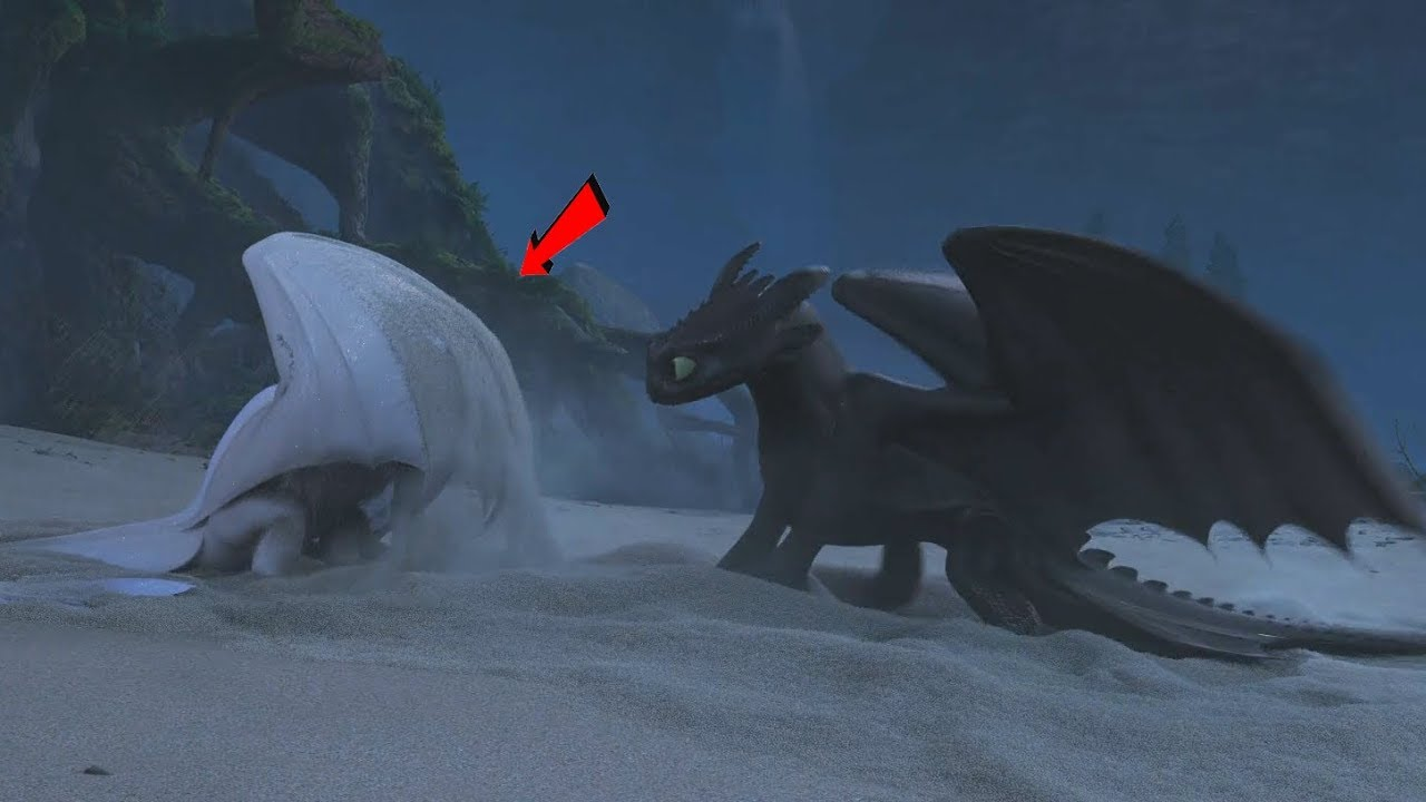 How to Train Your Dragon 3 (2019) - Toothless Falls in Love