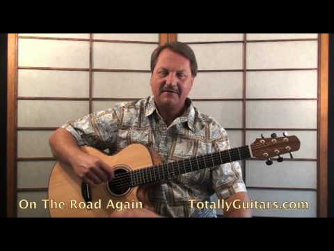 Willie Nelson - On The Road Again Guitar lesson