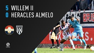 Willem II - Heracles Almelo | 26-08-2018 | Samenvatting