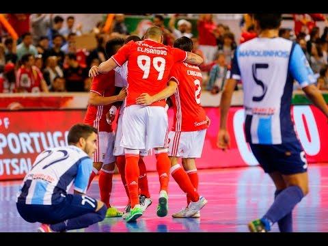 Taça de Portugal de Futsal: SL Benfica 5 - 1 Burinhosa