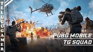 PUBG MOBILE Chicken Dinner Gameplay   TelugUGameR is Live