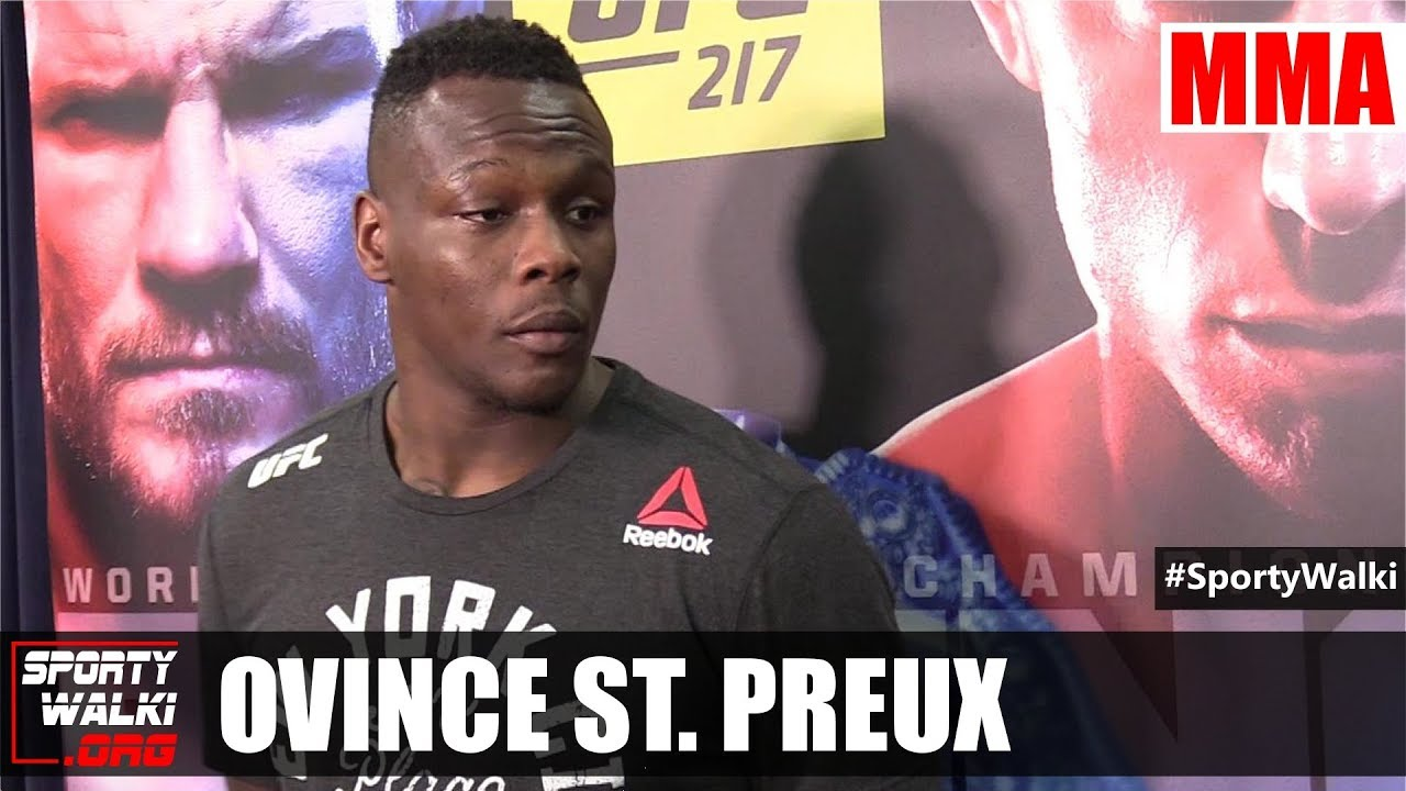 UFC 217: Ovince St Preux knocked out Corey Anderson
