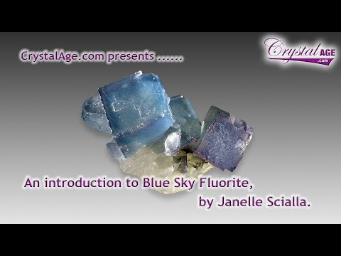 Healing Crystals Guide - Blue Sky Fluorite