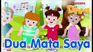 DUA MATA SAYA   Diva Bernyanyi   Lagu Anak Channel