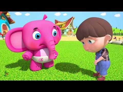 Ding Dong Bell | Kindergarten Nursery Rhymes Songs for Children | Kids Cartoon by Little Treehouse
