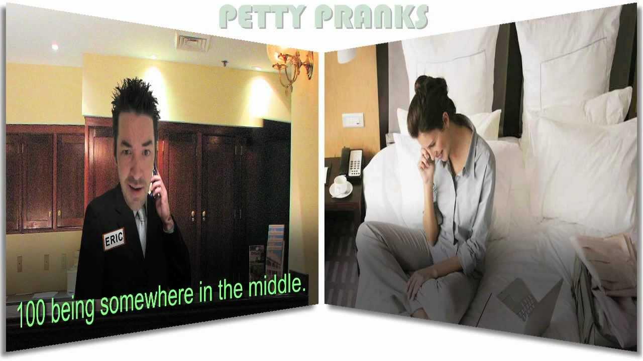Prank Call Hotel Guest Bizarre Survey Youtube