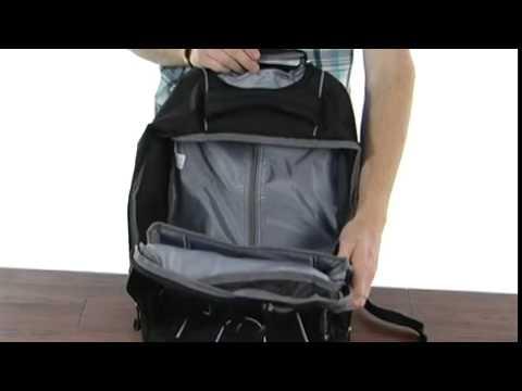 High Sierra Freewheel Wheeled Backpack Mercury Haze