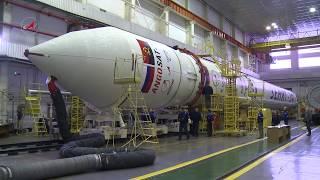 РН «Зенит-2SБ» с КА «Ангосат». Общая сборка.