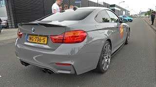 BMW M4 F82 - Lovely Accelerations & LOUD Revs!