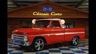 Мастерская Extensive - тюнинг Chevrolet C10 pickup 1966 ( Техасский Металл )