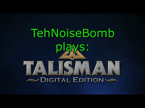Talisman Digital Edition Gameplay: Human vs AI Session 1 Part 2 |