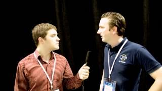 Virtuix Omni VR Treadmill and Oculus Rift Hands-on, Interview with CEO Jan Goetgeluk
