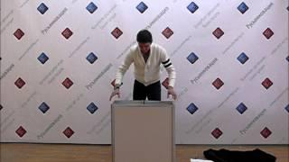 Промостойка с дверцами(Промостойка http://www.rusinntorg.ru/product/1134 с дверцами сделана из складывающихся, как книжка алюминиевых рам с пласт..., 2012-04-12T12:14:41.000Z)