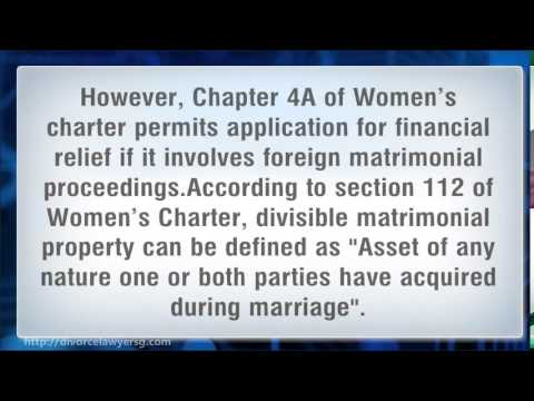 Division of Assets during Marriage Breakdown