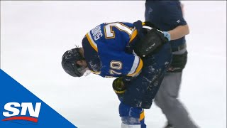 Milan Lucic Ejected For Dangerous Hit From Behind On Oskar Sundqvist