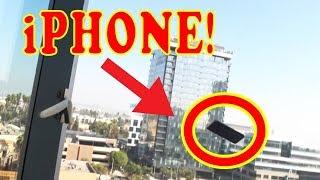 BASHING NEW iPHONE - PRANK ON GIRLFRIEND!