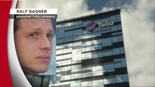 Telia kapar 650 tjänster i Sverige - Nyheterna (TV4)