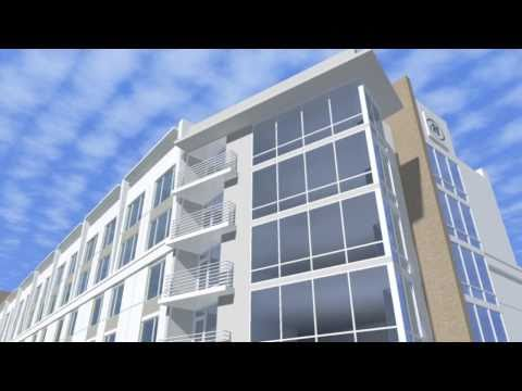 Rendering Of The Proposed Convention Center Hotel In Savannah, GA - Hutchinson Island Holdings