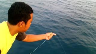 Handline fishing almost like pro