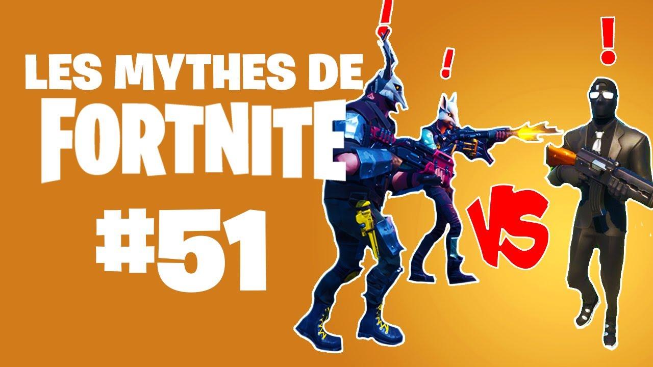 DES COMBATS DE MARAUDEURS ? | Mythes de Fortnite #51 feat. Ionix