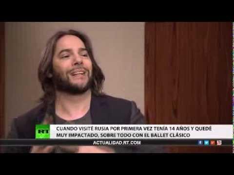 Entrevista RT con Joaquín Cortés,bailarín y coreógrafo español,04-3-15
