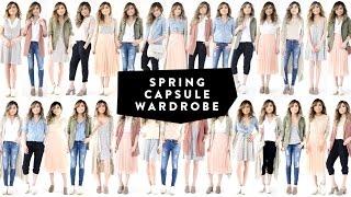 12 Pieces = 30 Looks | 2017 Spring Capsule Wardrobe Minimalist | Miss Louie