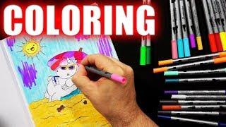 ASMR | Coloring Book