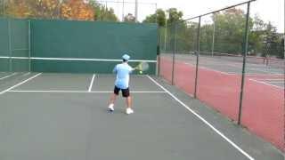 Tennis Practice Wall - Figure 8 drill