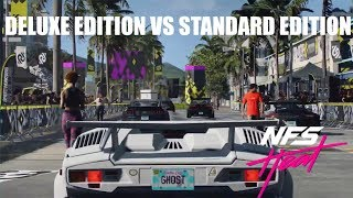 Need For Speed HEAT  2019| DELUXE EDITION VS STANDARD EDITION  #NFSHEAT #NFSHEAT2019