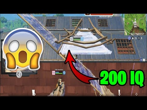 CRAZY 200IQ OUTPLAY (Fortnite Epic & Funny Moments #3)