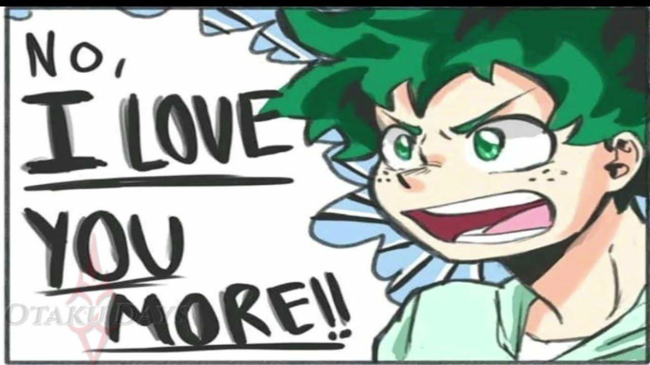 Eu te amo mais! (COMICS IzuOcha)