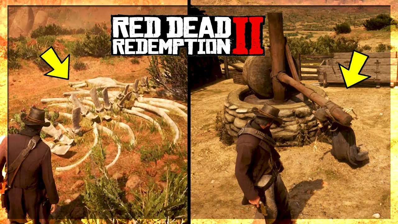 All Secrets Easter Eggs In New Austin Red Dead Redemption 2 Easter Eggs Youtube