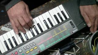 Circuit Bending Fool - Casio SA-35