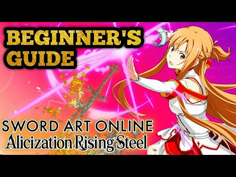 Beginners Guide! How To Progress Faster! | Sword Art Online Alicization Rising Steel SAOARS