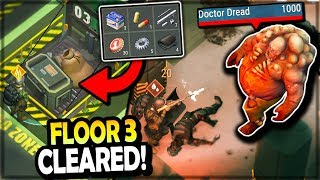 Bunker Bravo DOCTOR DREAD BOSS (Floor 3 CRATE LOOT) - Last Day on Earth Survival Season 3
