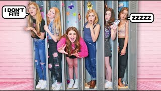 LAST TO LEAVE THE LOCKER WINS $20,000 **Girls Challenge*🎒🎀 | Piper Rockelle