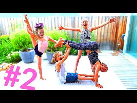 Sibling YOGA Challenge Advanced w/The Norris Nuts