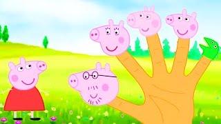 Свинка Пеппа Новые серии Семья пальчиков на русском