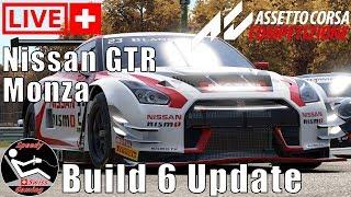 Assetto Corsa Competizione Early Access Build 6 Nissan GTR Nismo - Monza Livestream [CH] Deutsch 2